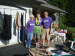 Garage Sale fundraiser for the local Alzheimer's Association.