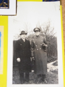 My father, on the right, with his brother, Armand.