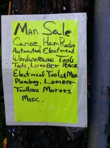 Neighborhood Man Sale