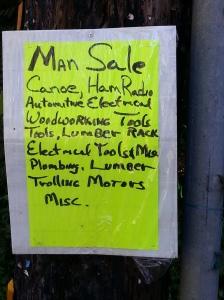 Neighborhood Man Sale