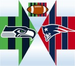 Seahawks Patriots teamwork