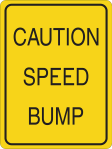 You  hit a speed bump?