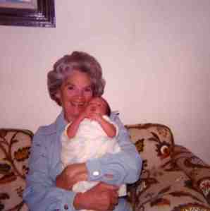 Mom with Erin, 3 days after my daughter was born. 1976